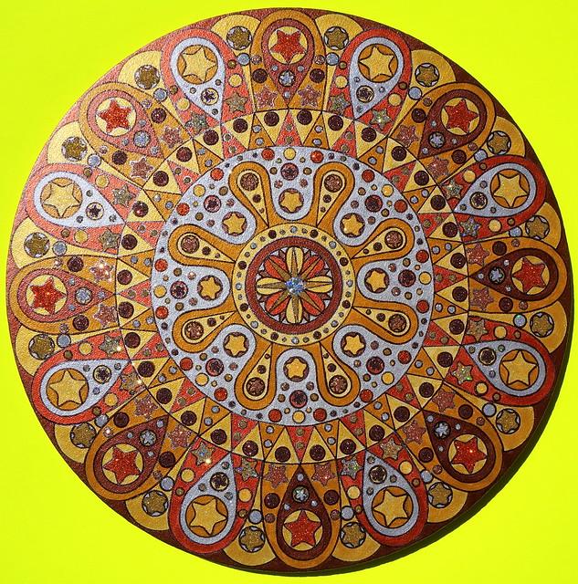 Metal Mandala large