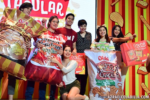Oishi Snacktacular 2015 at Trinoma Activity Center