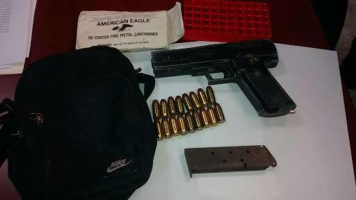 Detenido por homicidio y portación de arma cerca de la General I. Mtz