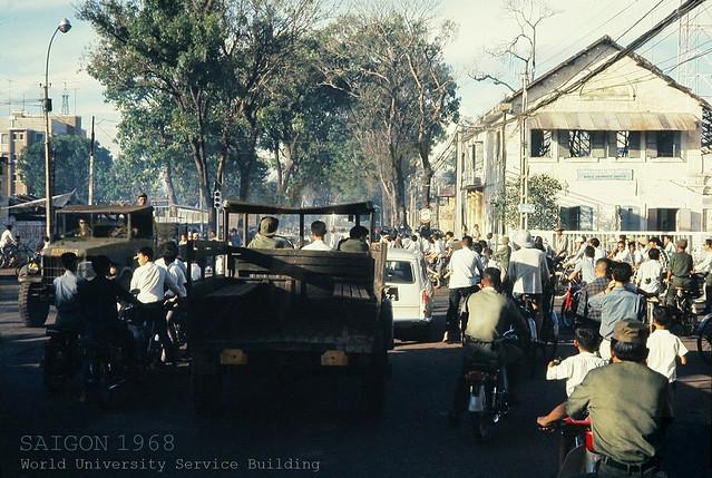 SAIGON 1968 - Ngã tư Hồng Thập Tự - Cường Để / Đinh Tiên Hoàng
