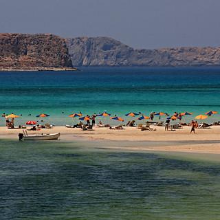 Image de Balos Beach. canoneos400ddigital 2010 july kissamos crete greece europeanunion beach mediterraneansea balos 100