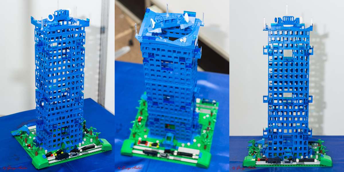 LEGO® MOC by Talex: Blue Eyed Building