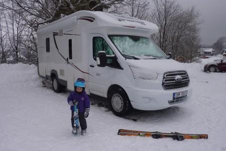 Nový web pro karavanisty - lyžaře