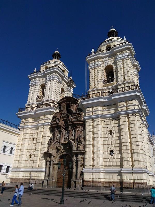 Iglesia de San Francisco, Lima, Perú