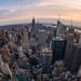 New York Fisheye Sunset by Justin in SD