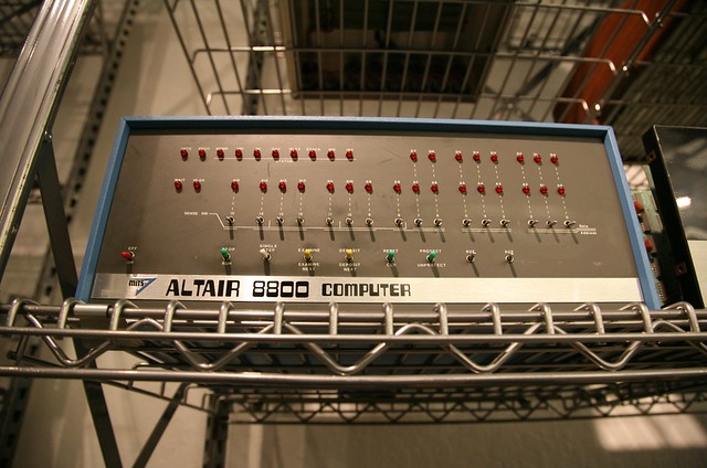 Altair 8800 Computer (1975)