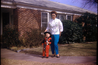 Me & Mom, Forth Worth, Texas 1962