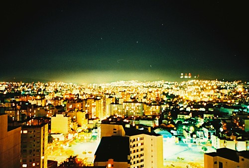 Porto Alegre at night