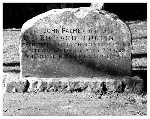 Dick Turpin's Gravestone