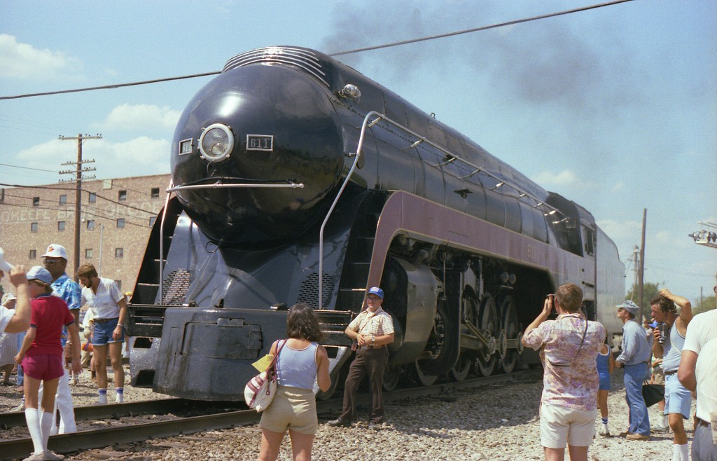 Moberly (MO) United States  city photos : ... Engine 611 Excursion from St. Louis to Moberly, Missouri Summer 1983