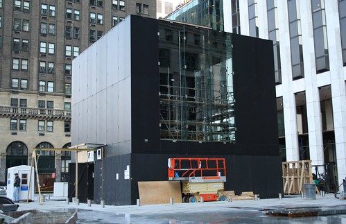 Apple's Flagship 5th Ave Store Under Construction