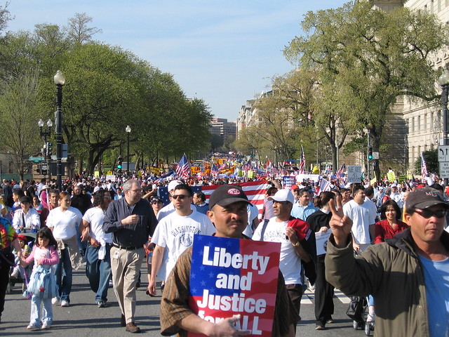 Immigration march, 2006
