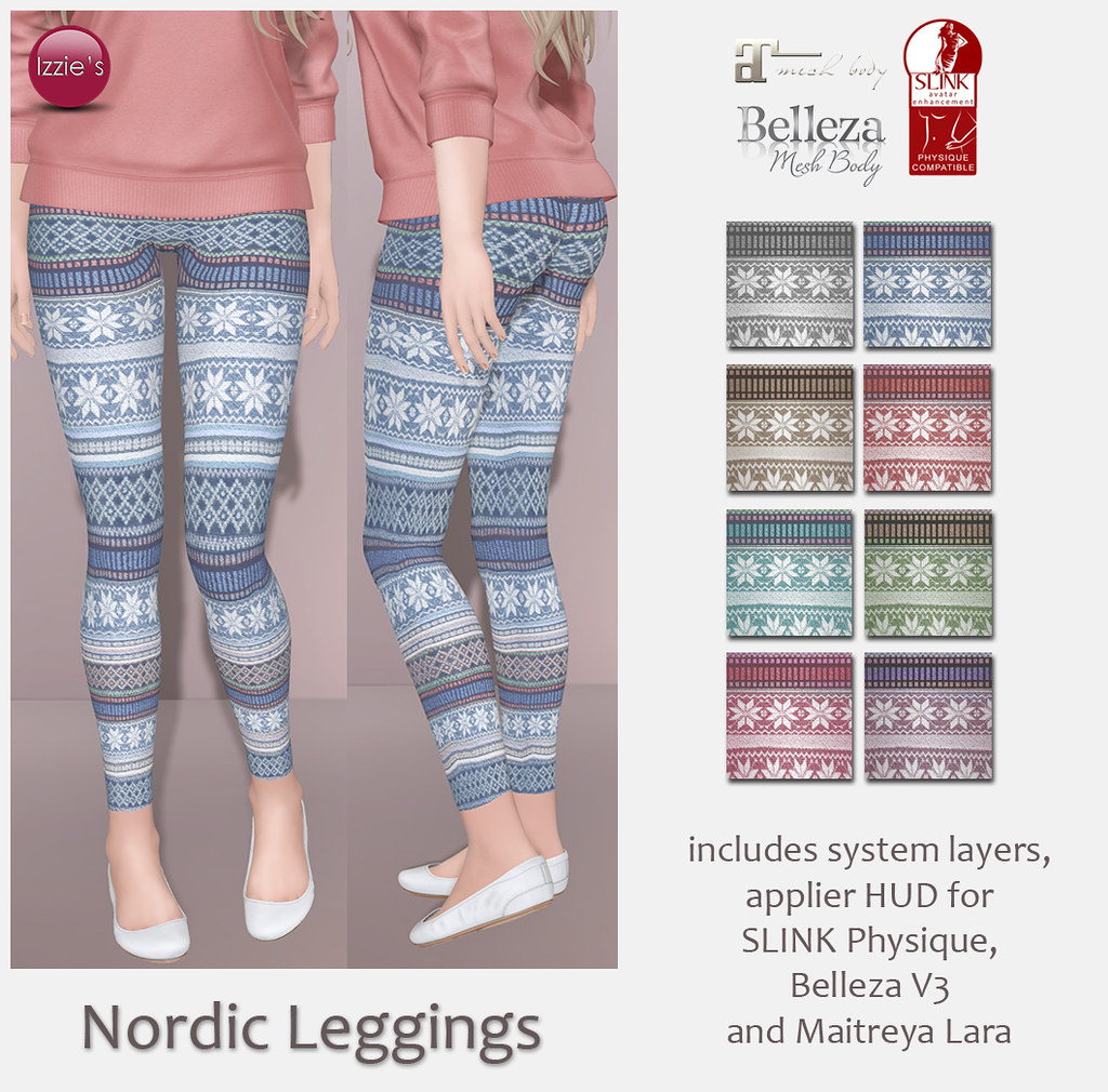 Nordic Leggings (for FLF) - SecondLifeHub.com
