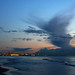 strange cloud above livorno during today sunset by paolo brunetti