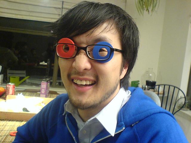 ghetto 3D glasses