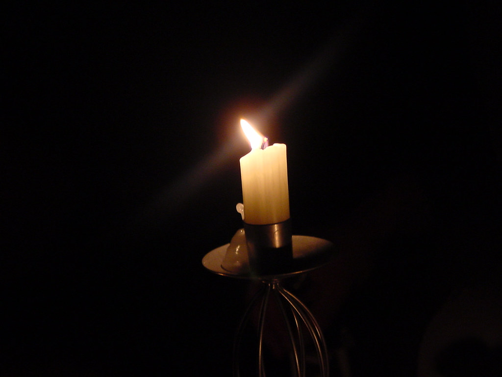 candle in the dark - photo #10