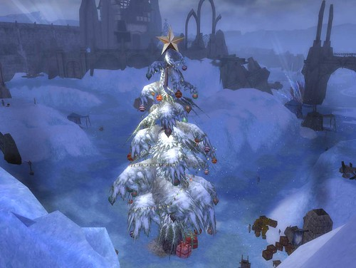 Wintersday Tree From Above