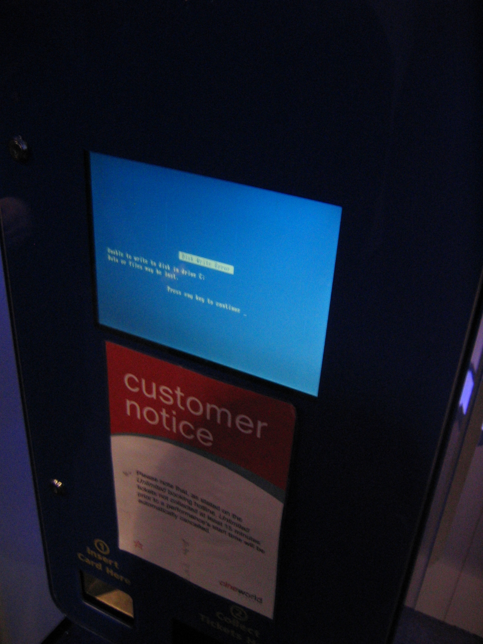 79935686 c485b1249a o Ticket machine in the Cineworld on Renfrew Street found on Flickr Funny Picture