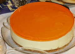 calabaza(0.0), produce(0.0), torte(0.0), flan(0.0), pumpkin pie(0.0), semifreddo(1.0), buttercream(1.0), baked goods(1.0), dulce de leche(1.0), food(1.0), icing(1.0), dish(1.0), cheesecake(1.0), dessert(1.0),