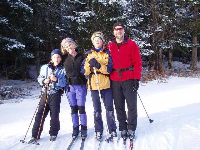 Family Skiing by Harold Jarche, on Flickr