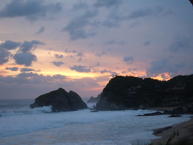 zipolite sunset 2