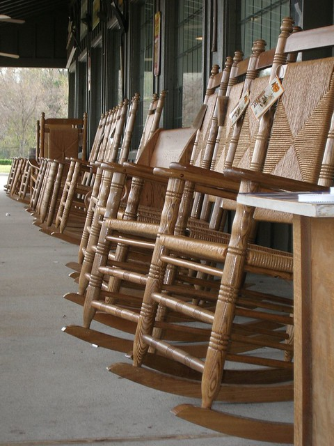 Rocking Chair Row  Flickr - Photo Sharing!