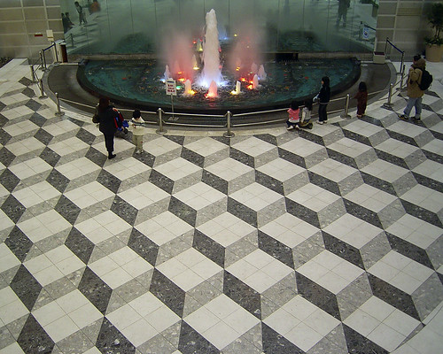 Fountain & Escher Floor