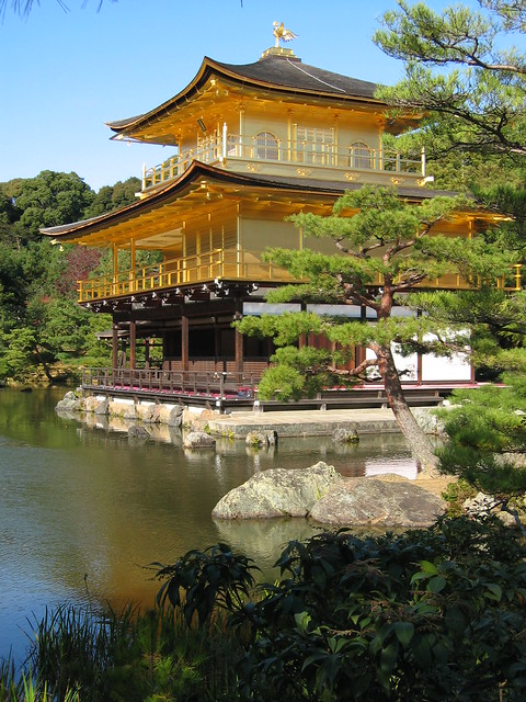 金閣寺 Kinkaku-ji up close