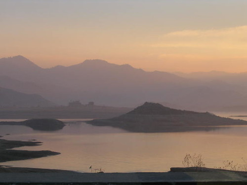 lake sunrise december
