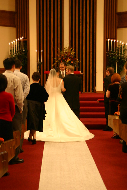 Bride and Groom at the Altar | Flickr - Photo Sharing!