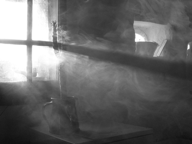 smoke through the window 3