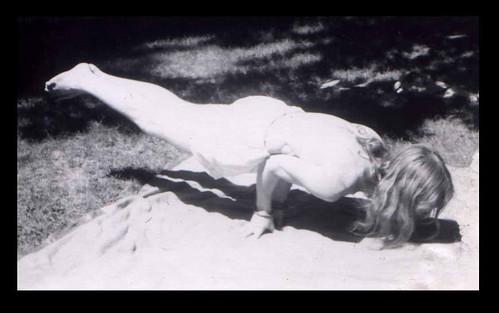 mayur asana by Richard Lazzara 1974