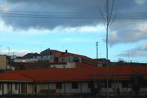 Una ventana azul