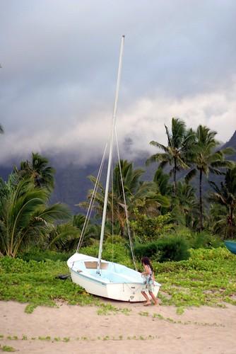 kauai, hanalei, sail, boat, hawaii, hawaiia… IMG_1508