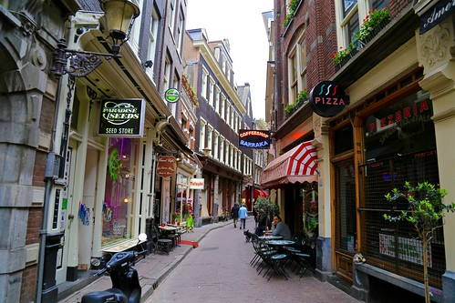 Redlight District, Amsterdam. A bit seedy...
