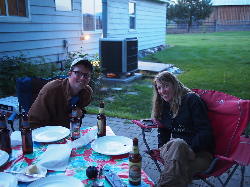Our Hosts for Stay #3: Megan and Ben: Megan was really into bicycles, and they both were really into the outdoors.