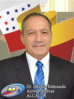Deyton Edmundo Alcívar Alcívar, Alcalde de Chone 2014-2019