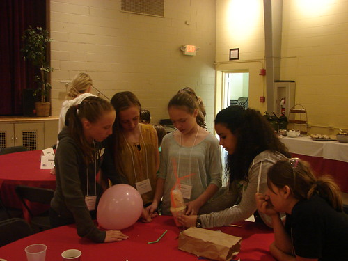 Girls & STEM Expo at Mitchell College