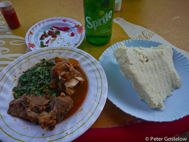 Beef, Ugali and Sukuma wiki