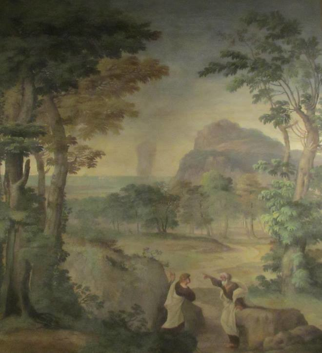 Painting of the Prophet Elijah and Ahab