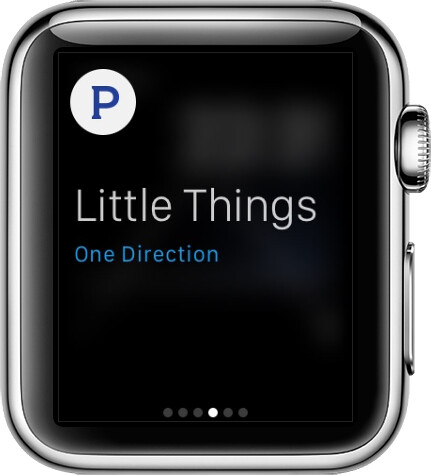 Pandora Radio on Apple Watch
