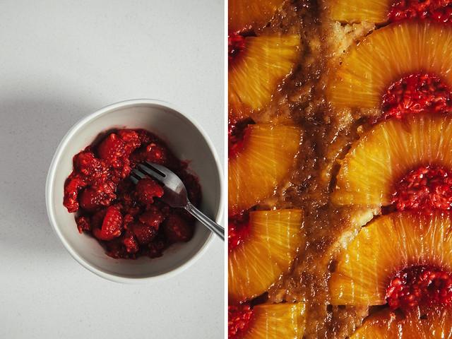 Boozy raspberry mash