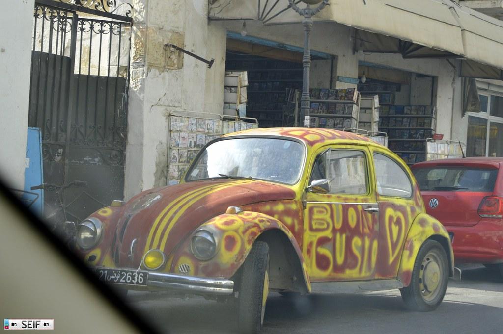 Volkswagen beetle Tunisia 2015