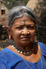 Traditional woman in the village of Regintal, Orissa
