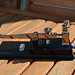 G0NVT PB-213 MORSE CODE TELEGRAPH KEY HAND MADE SUPERB BUILD QUALITY