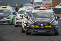 2015_BTCC_Croft-5684.jpg-Paul Rivett leads in the Renault UK Clio cup championship.