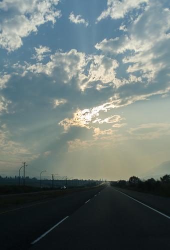 ca sunset canada britishcolumbia transcanadahighway montecreek