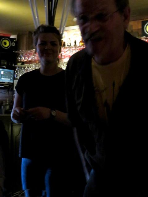 Inside the pub De Zotte in Amsterdam, Holland