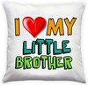 Amore I Love My Little Brother Cushion Cover