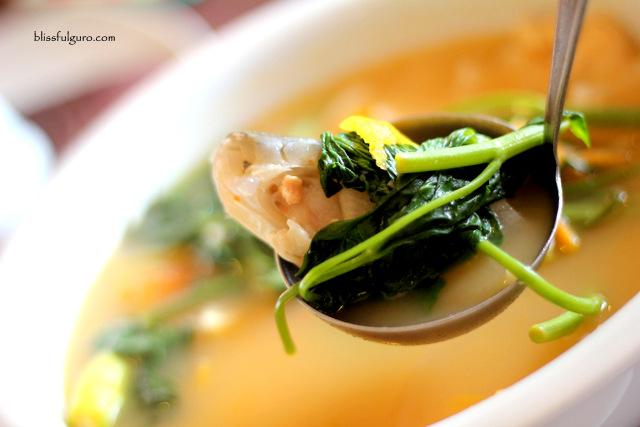 Rustica Restaurant Cabanatuan Sinigang Na Ulo Ng Salmon